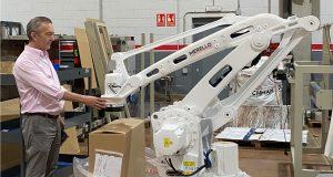 robotica en paletizado para finales de linea